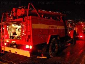 В ночном пожаре в трубчевской деревне Глыбочка погиб человек