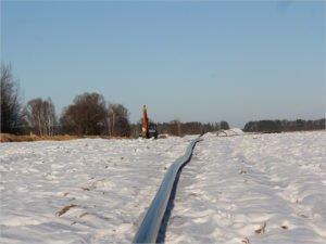 В Почепском районе завершено строительство четырёхкилометрового газопровода