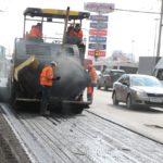 Дороги Брянска дождались «горячего» ремонта