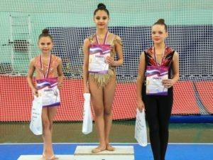 В Брянске прошло первенство области по художественной гимнастике