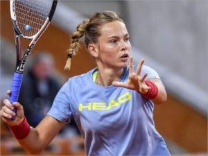 Брянская теннисистка Влада Коваль с начала года сыграла в пяти турнирах