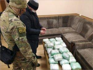 Брянские чекисты поймали украинского курьера с 8,5 кг марихуаны