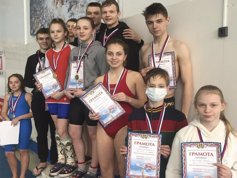 На первенстве Брянской области по плаванию установлен новый рекорд