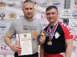 Спортсмен из Суземки выиграл первенство России по пауэрлифтингу