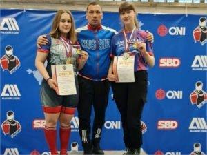 Спорстмены из Климово выиграли три золота на первенстве России по пауэрлифтингу