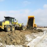 Для дороги-дамбы «Брянск-I — Брянск-II» завезли миллион кубометров грунта