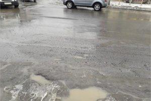 Брянские весенние разрушающиеся новые дороги возмутили самую «вонючую» часть электората