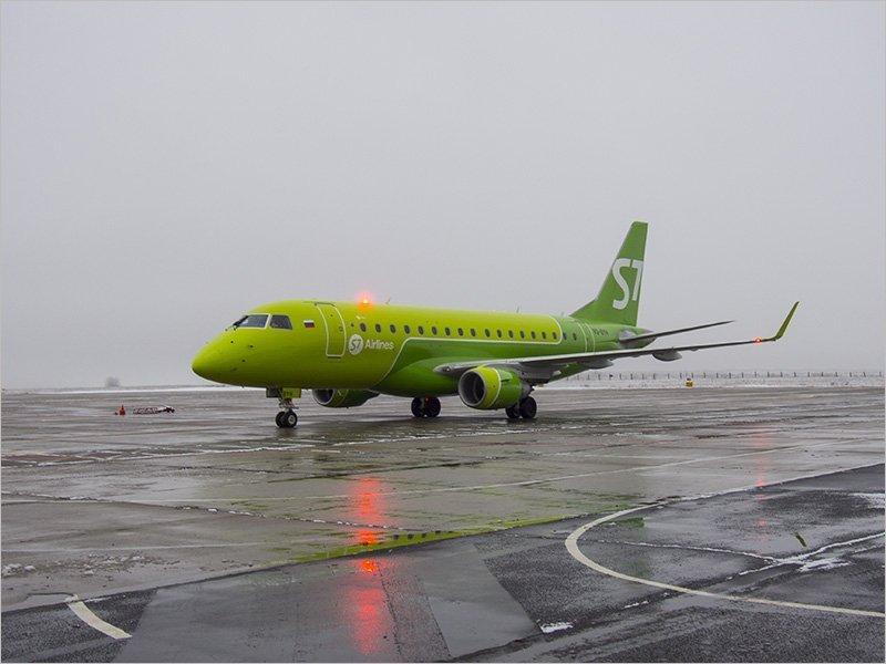 Авиакомпания S7 проводит распродажу авиабилетов, на рейс Брянск-Москва также есть предложения