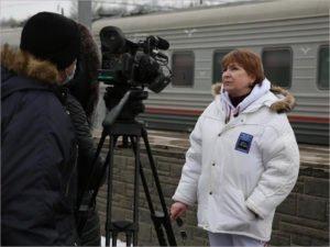 Лариса Садилова «отчиталась» о завершении съёмок зимнего блока фильма «Огород»
