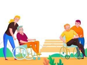 В Брянске работает школа ухода за пожилыми людьми и инвалидами