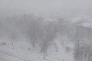 В Брянске 7 марта наблюдалось редкое природное явление — зимняя гроза