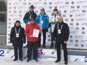Брянский лыжник принёс первую победу сборной области на спартакиаде инвалидов