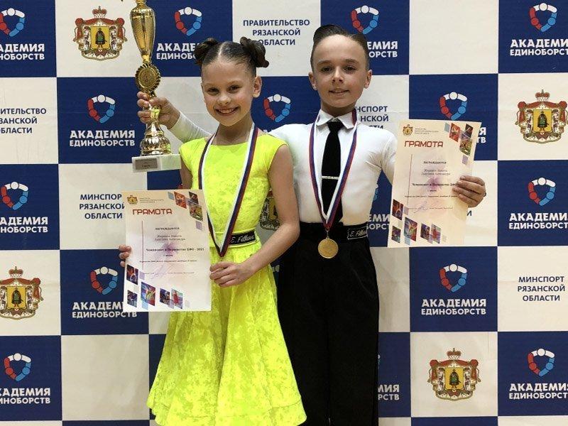 Юные брянские танцоры одержали уверенную победу на первенстве ЦФО в Рязани