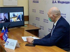 Депутат Госдумы онлайн решал вопросы с фотозоной в навлинском парке и ремонтом школы в Новозыбкове