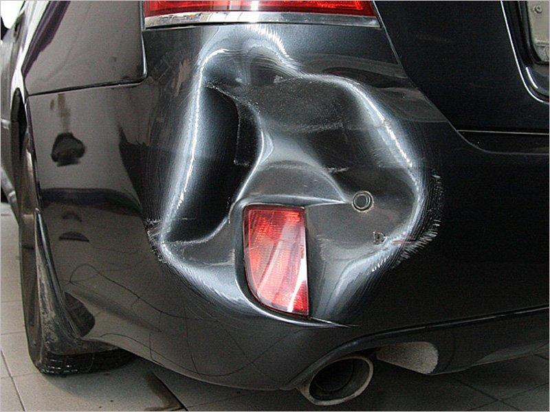 Задний бампер признан автостраховщиками самой «аварийной» деталью автомобиля