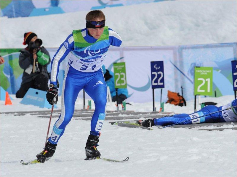 Клинчанин Олег Балухто стал бронзовым призёром ЧР по лыжным гонкам и биатлону