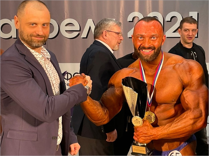 Кубок Брянской области выиграл смоленский бодибилдер