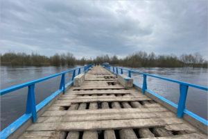 Мост через Десну в Сельцо признан аварийным и полностью закрыт
