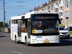 В Брянске добавили автобусов на маршрут №11