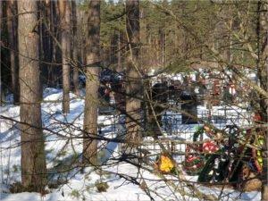 У жителей брянского поселка Белые Берега закончилось кладбище