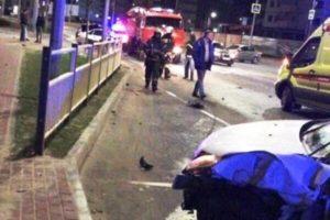 В Брянске 18-летний лихач устроил аварию с двумя пострадавшими