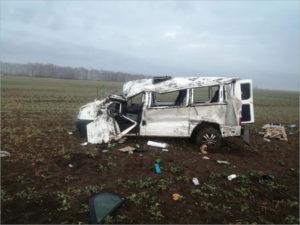 В аварии на брянской автотрассе сломала шею престарелая женщина