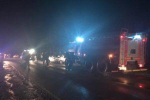 На дороге под Стародубом разбилась легковая машина. Есть жертвы