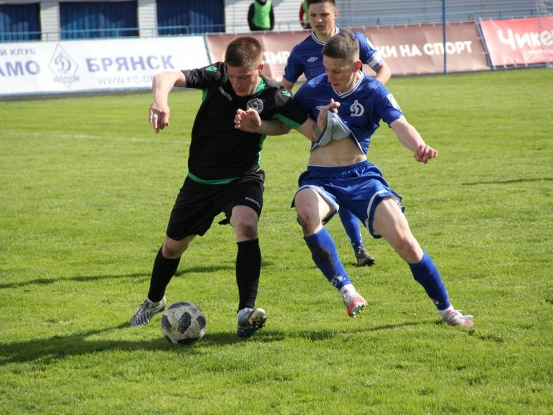 Молодёжка брянского «Динамо» крупно проиграла в дебютном официальном матче