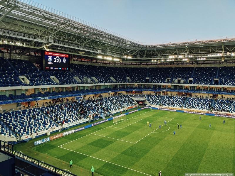 Брянское «Динамо» проиграло в Калининграде местной «Балтике». И фактически вылетело из ФНЛ
