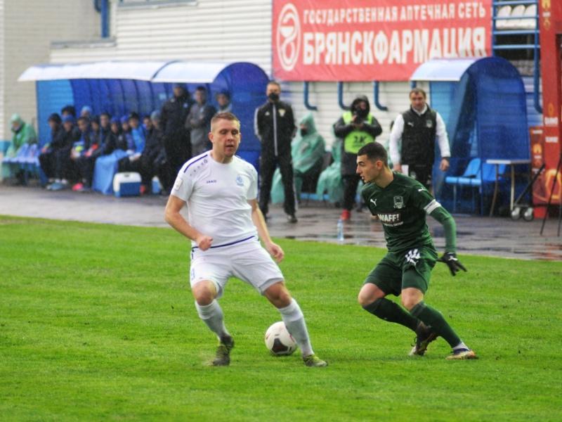 Брянское «Динамо» на раскисшем поле-огороде обыграло «Краснодар-2»