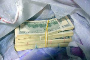 Молдавский водитель оштрафован в Брянской области за контрабанду долларов