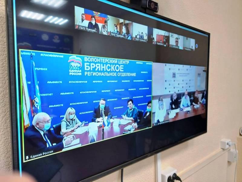 На круглом столе в «ЕР» обсуждалась модернизация первичного звена здравоохранения в Брянской области