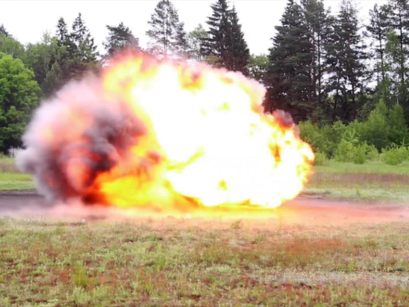 На Брянском химическом заводе демонстративно взорвали новые сейсмические заряды