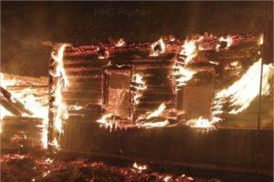 В пожаре в брянской деревне Строительная Слобода погиб 34-летний мужчина