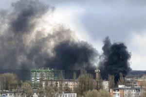 Пожар на котельной лишил жителей микрорайона в Брянске тепла и горячей воды