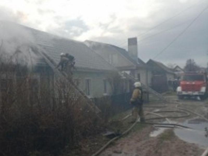 В Красногорском районе в пожаре погибла пожилая женщина