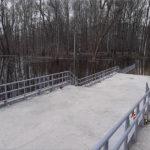 Уровень воды в Десне в Брянске за сутки ещё немного повысился