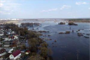 Рост уровня воды в Десне в Брянске превысил трёхметровый рубеж