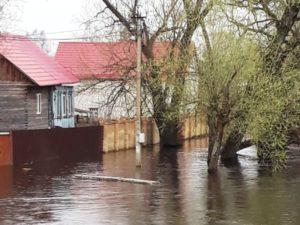Дожди увеличат период прохождения паводка на брянских реках