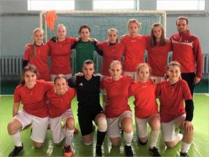 Команда девочек-футболисток заняла шестое место в первенстве Брянской области среди мальчиков