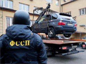 Брянские судебные приставы за месяц арестовали 42 автомобиля из-за долгов по штрафам
