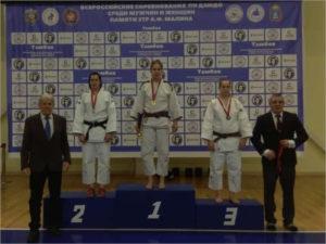 Брянская дзюдоистка стала победительницей всероссийских соревнований