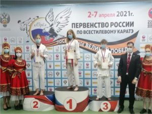 Брянские спортсмены завоевали четыре золотых медали на юношеское первенстве России по каратэ
