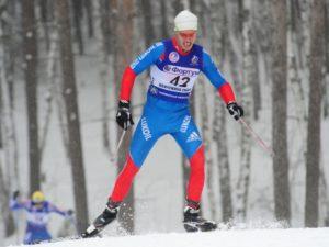 Брянский лыжник не финишировал в марафоне на чемпионате России