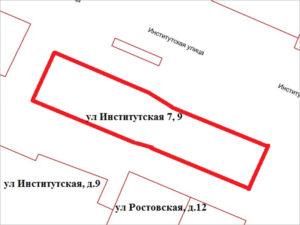Место снесённых бараков на улице Институтской в Брянске определено под «религиозное использование»
