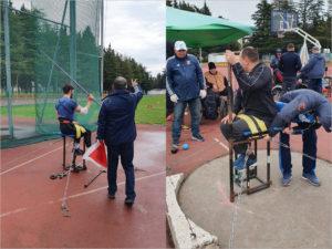 Брянские паралимпийцы завоевали пять медалей на всероссийских соревнованиях по метаниям в Адлере