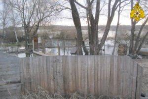В Брянске подтопило приусадебные участки в Бежицком районе