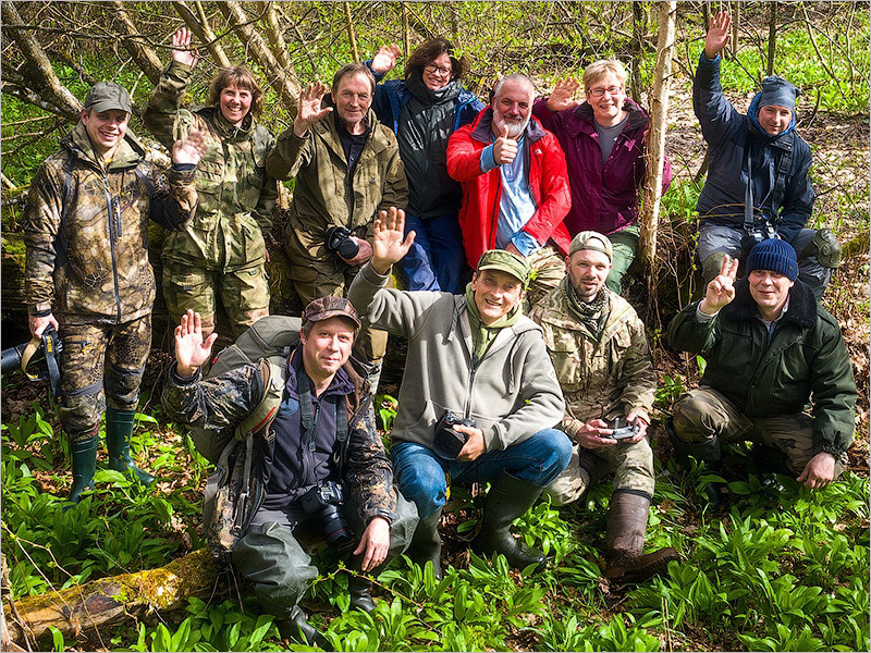 Союз фотографов дикой природы поможет расширению «Брянского леса»