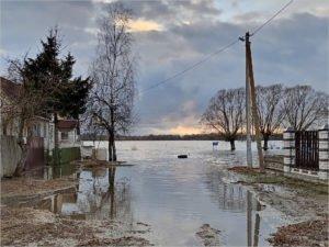 Паводок на Болве в черте Брянска достиг своего пика