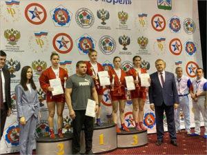 Четыре брянские самбистки пробились в финал V летней Спартакиады молодёжи России